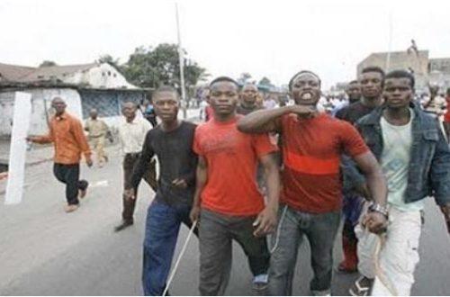 Article : Quand la police congolaise est victime des kuluneurs